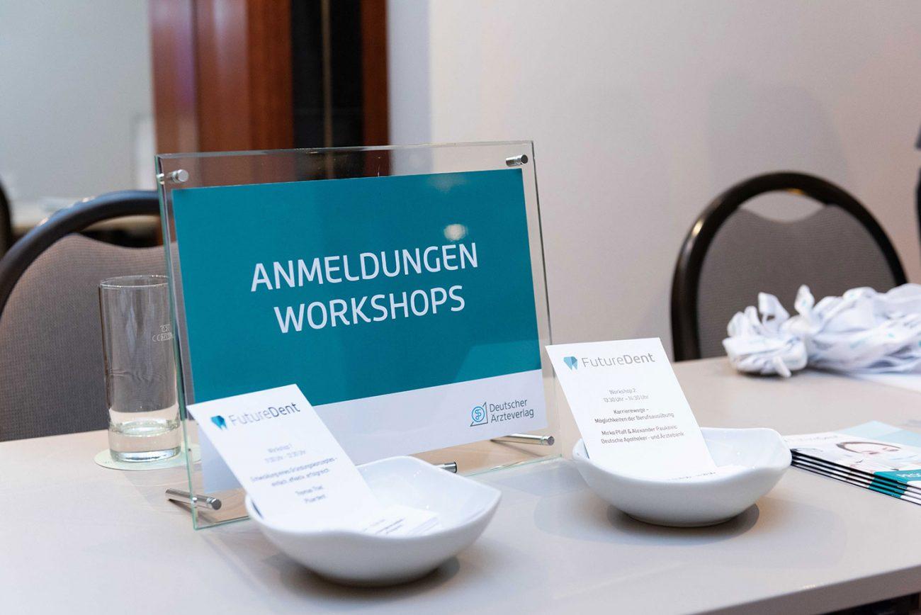 Workshops bei FutureDent 2018 in München
