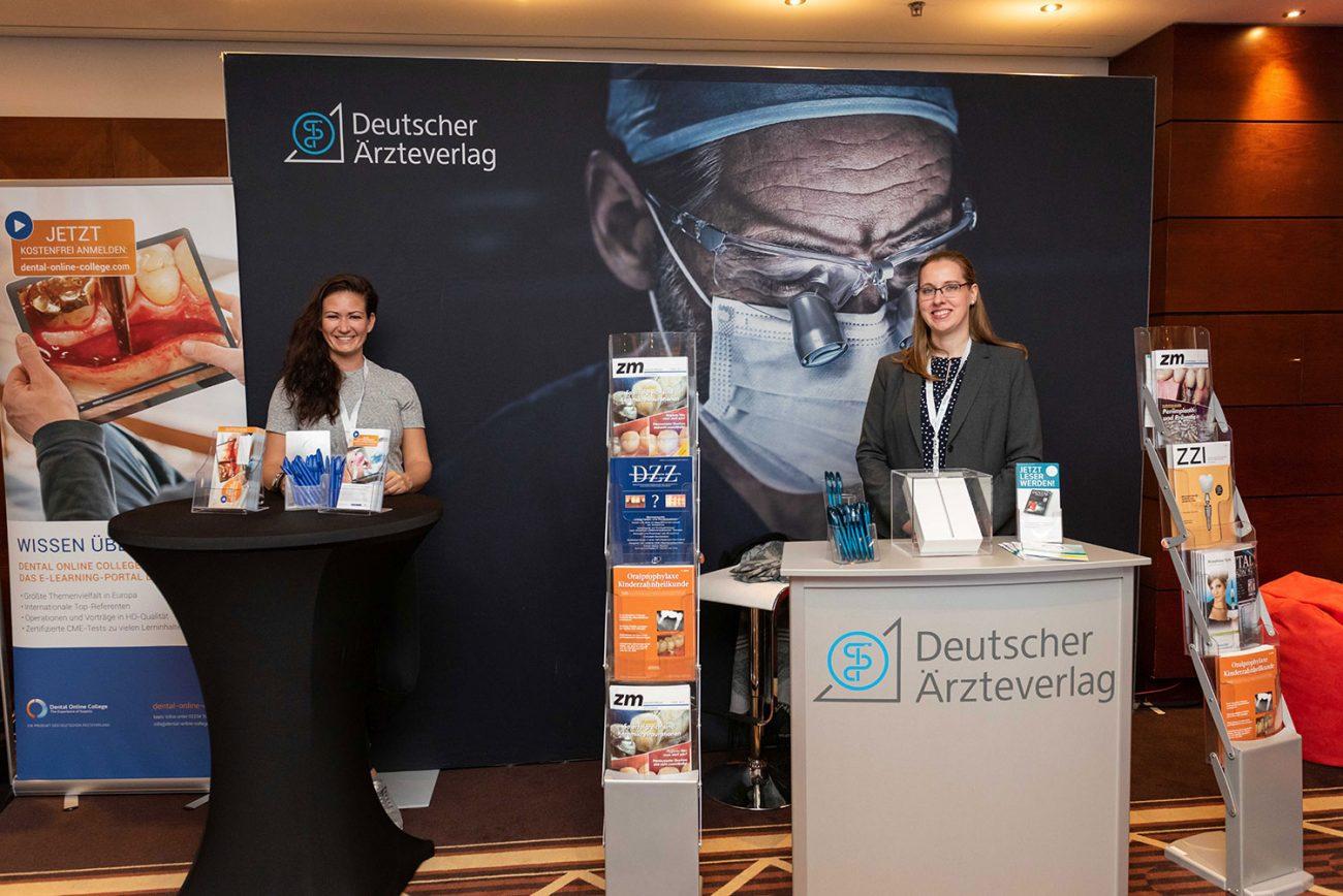 Deutscher Ärzteverlag und das Dental Online College bei der FutureDent 2018