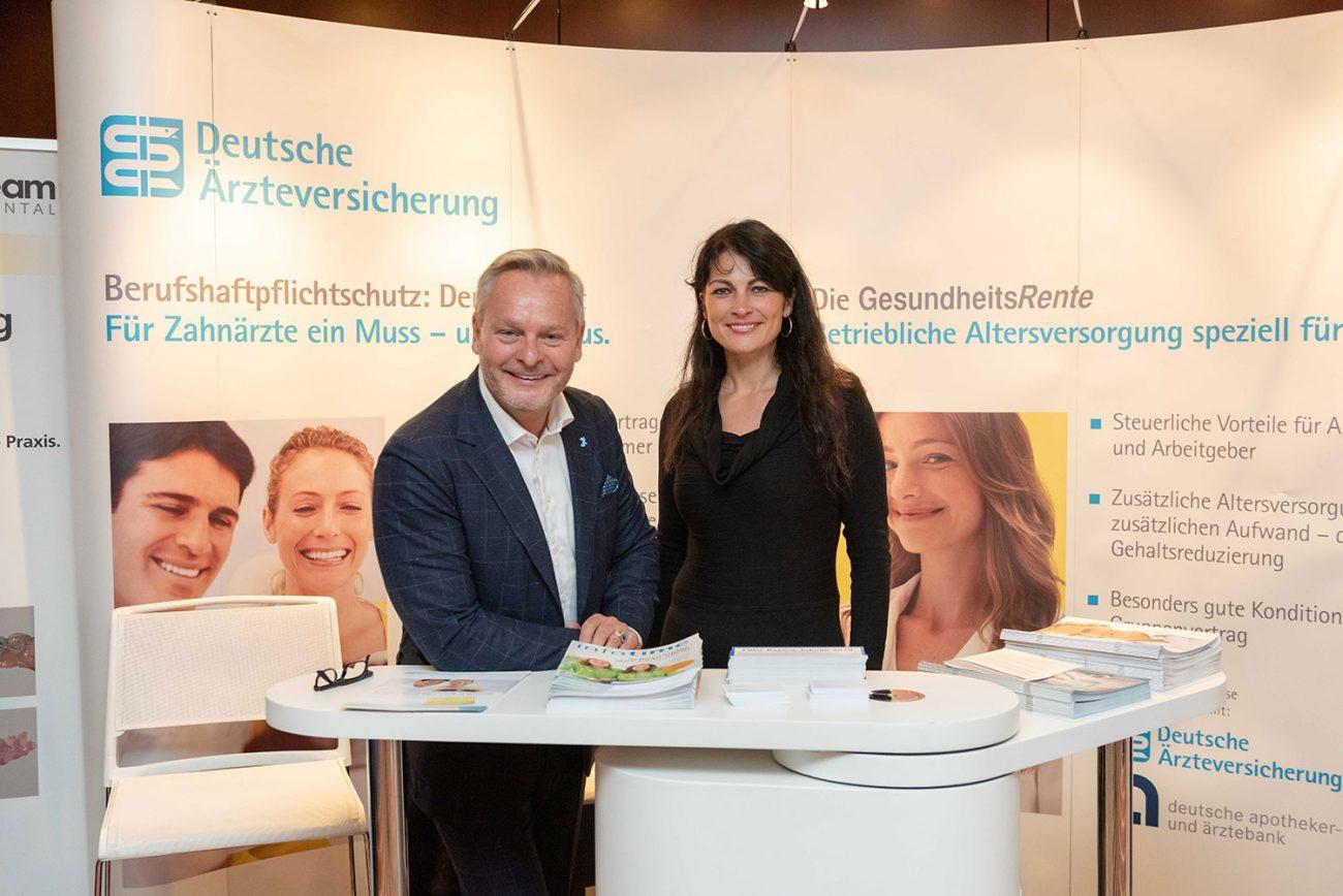 Stand der Deutsche Ärzte Finanz auf der FutureDent 2018